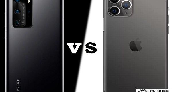 مقایسه دو گوشی Huawei mate20 و iphone xr